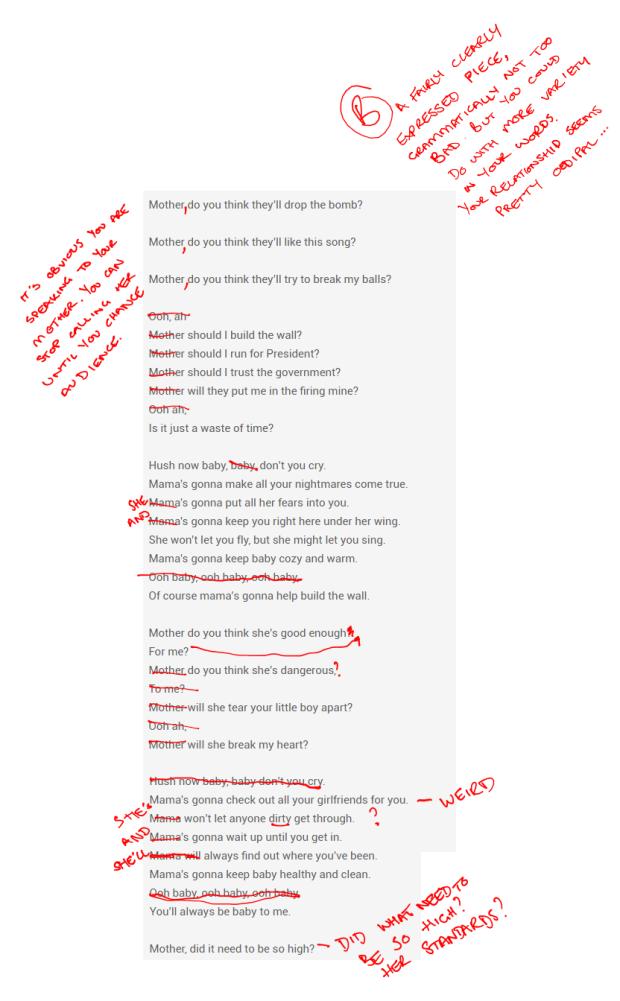 Mother Lyrics