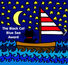 Black Cat Blue Sea Award
