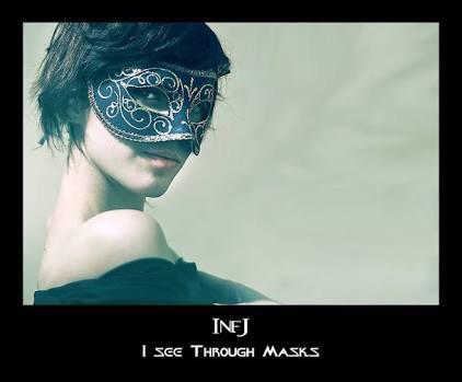 INFJ Problems – Masks – Jessica Bakkers