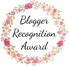 Blogger Recognition Award # 2