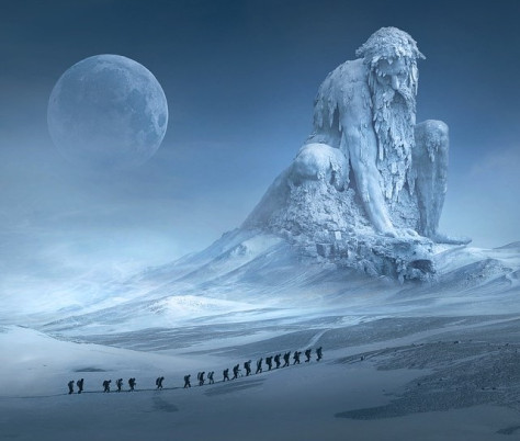 Of Stone and Ice – A Writing Prompt ShortStory